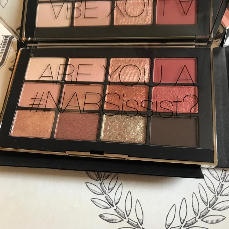 NARSissist Unboxing Wanted Palette Sephora 2018 Review beautyexploreonline.com beautyexploreonline