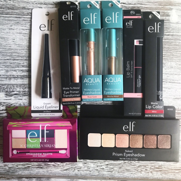 Elf product haul and reviews from beauty explore online