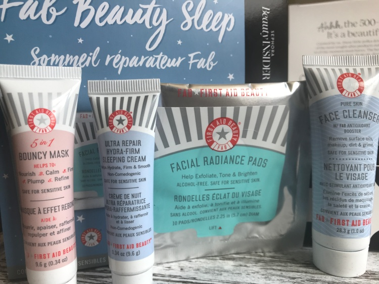 First Aid Beauty Box 500 Point Sephora Beauty Insider Reward Spring 2018