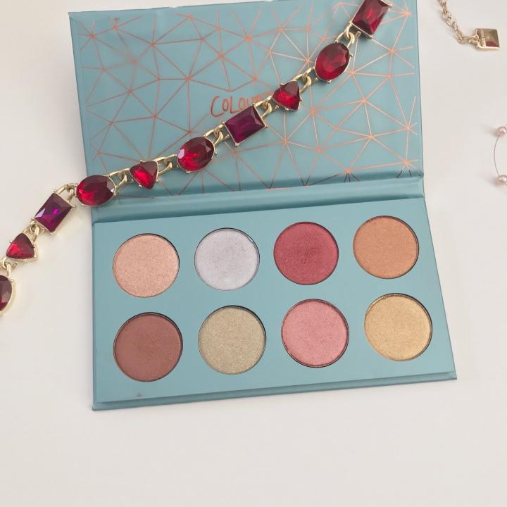 Colourpop semiprecious eyeshadow palette review