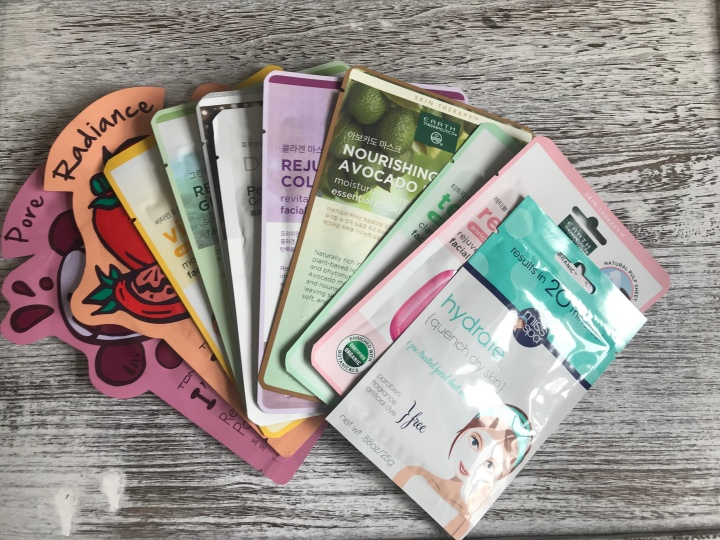 I am testing 10 NEW sheet masks and let's see which ones will be my favorites.