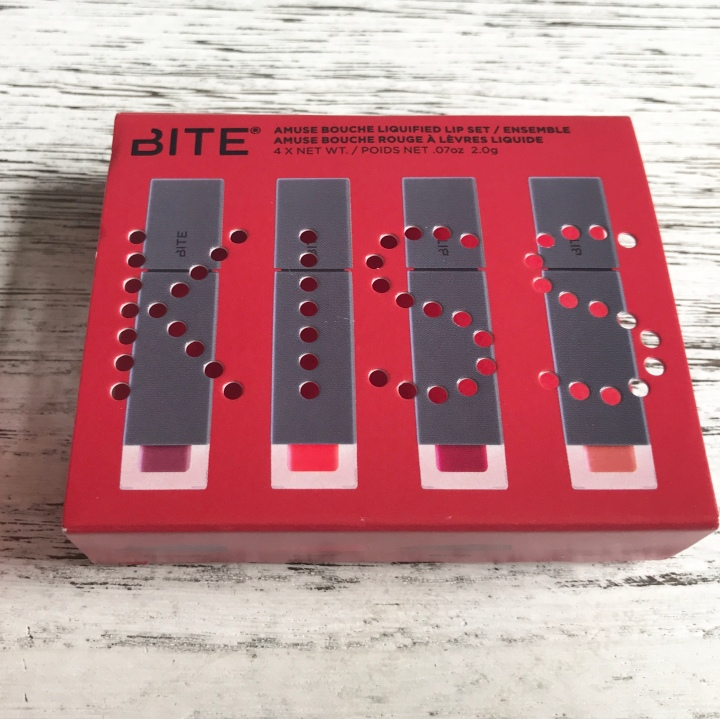 BITE BEAUTY Amuse Bouche Liquified Lip Set – Unboxing