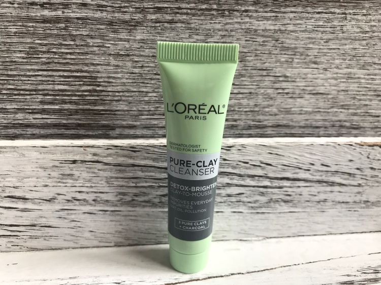 L'Oréal pure clay cleanser Review From Target Beauty Box Unboxing Beauty explore online