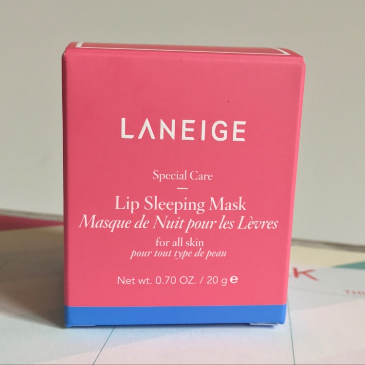 Laneige Lip Sleeping Mask Review and Unboxing