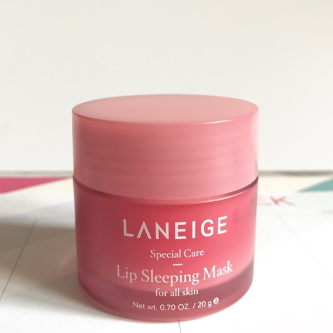 Sephora Exclusive Laneige Lip Sleeping Mask Review by Jessica at Beauty Explore Online