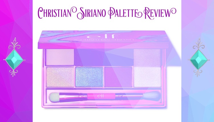 e.l.f. Elf Christian Siriano Palette Review by Beauty Explore Online