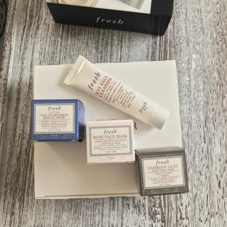 Sephora Fresh 500 Points Beauty Insider Rewards Unboxing – Mini Mask Bar.