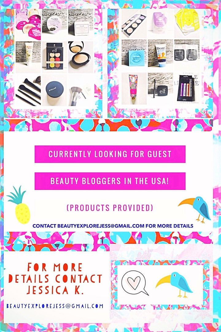 Looking for YOU! And other Guest Bloggers to Review Products for Beauty Explore Online!