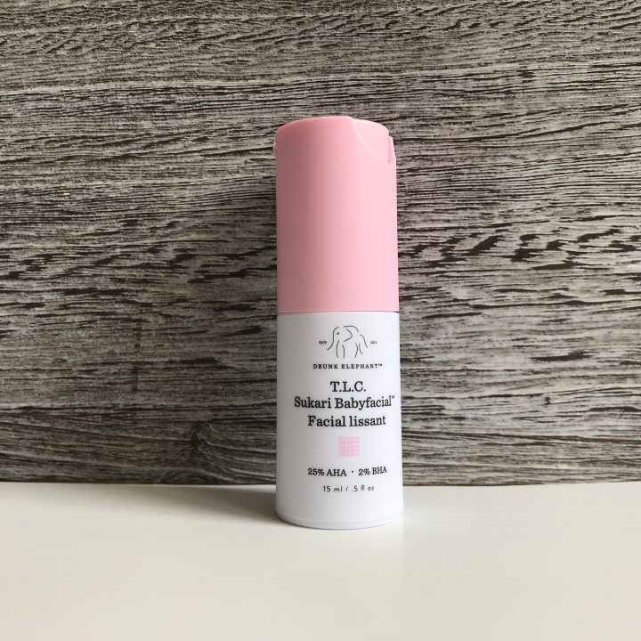 DRUNK ELEPHANT T.L.C. Sukari Babyfacial Sephora Play April 2018