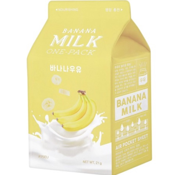 A'PIEU Banana Milk One-Pack