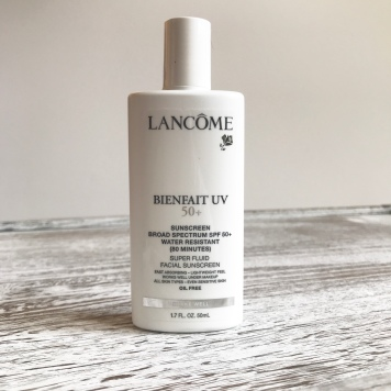 Lancôme spf benefit uv 50 Sephora Favorites Sun Safety Kit Unboxing