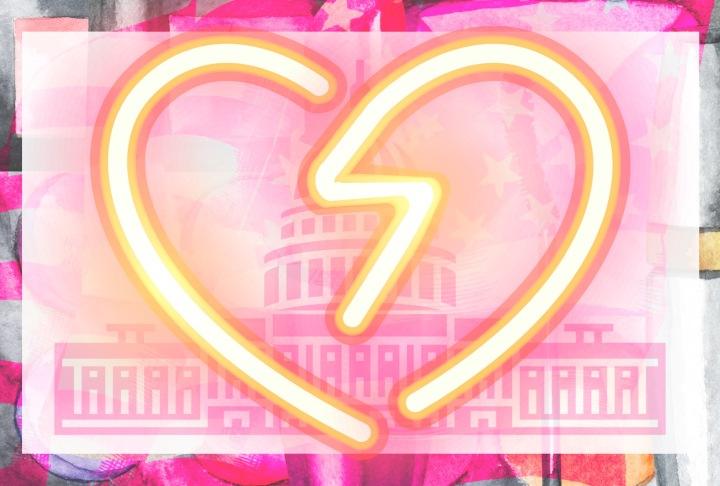neon congress heart