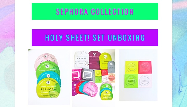 Sephora collection Holy Sheet Set Unboxing