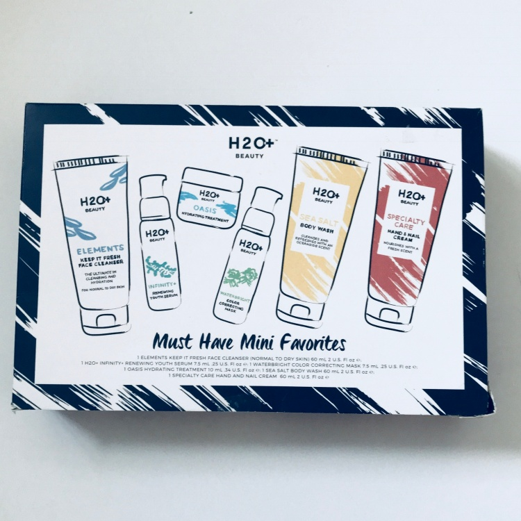 h2o plus must have minis set