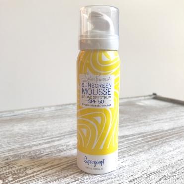 supergoop sunscreen foam Sephora Favorites Sun Safety Kit Unboxing