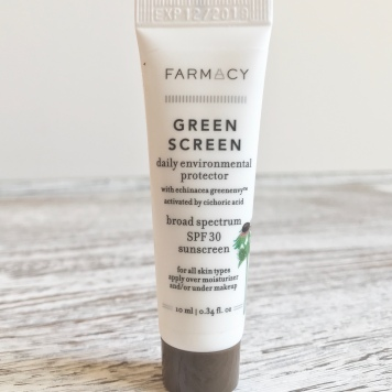 Farmacy green screen 2018 sephora Favorites Sun Safety Kit Unboxing