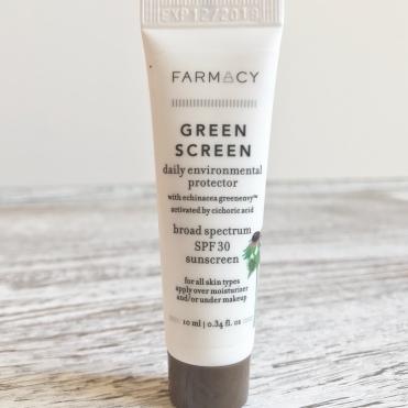Farmacy green screen 2018 sephora Favorites Sun Safety Kit Unboxing