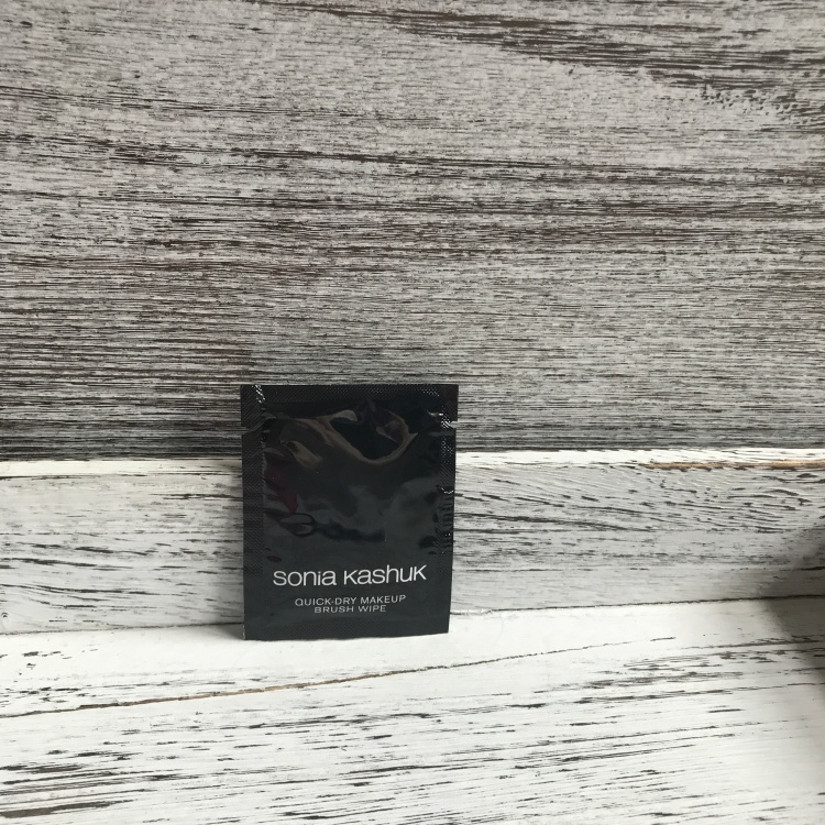 Target Beauty Box Sonia Kashuk Brush Cleaning wipes