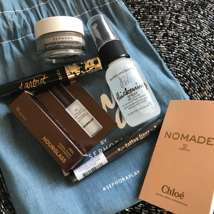 Beauty explore online Sephora Play Unboxing May 2018 New Beauty Box blog