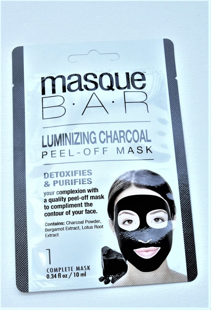 Masque Bar Luminizing Charcoal Peel-Off Mask - Review by Beauty Explore Online.