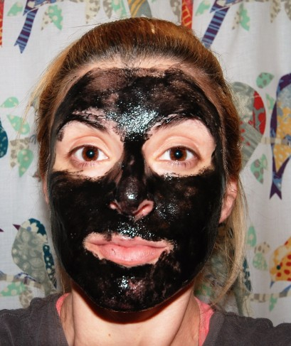 Masque Bar Luminizing Charcoal Peel-Off Mask (On) Review by Beauty Explore Online