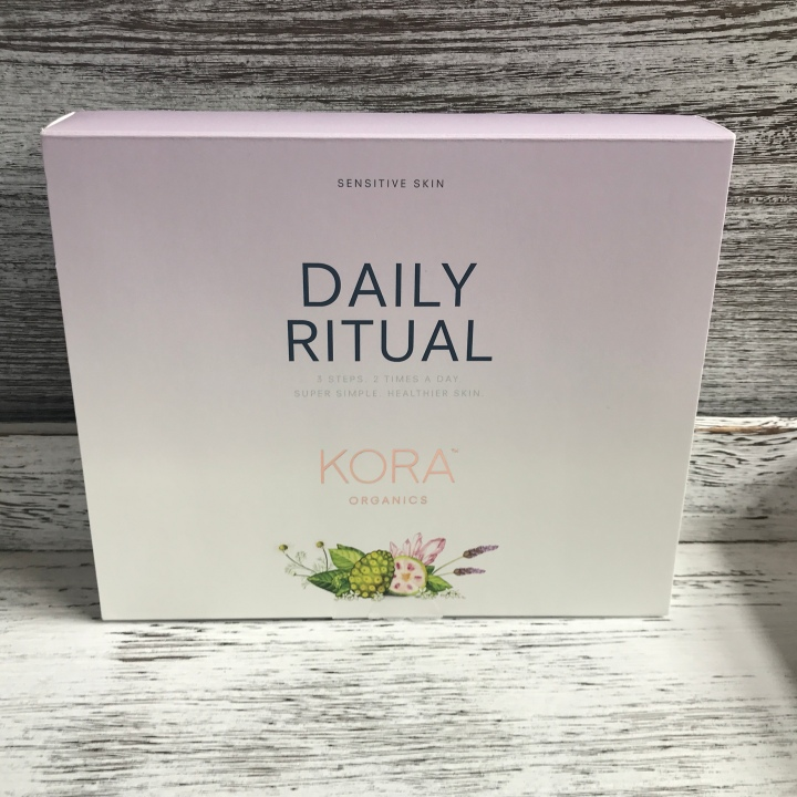 kora Organics Sephora Exclusive Sensitive skin daily ritual set