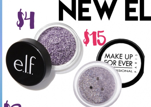 The best drugstore dupes glitter eyeshadow makeup forever mascara