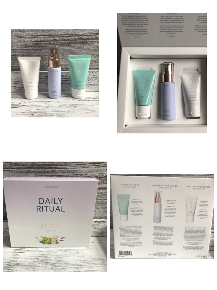 Kora Organics Daily Ritual Kit for Sensitive Skin - Unboxing by Beauty Explore Online.