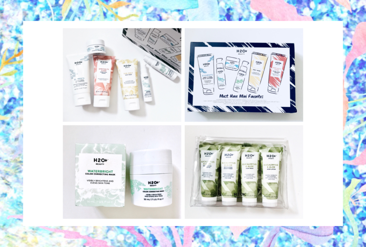 More gift sets from h2oplus beauty