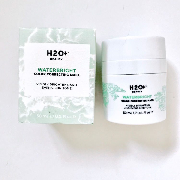 H2oplus color correcting waterbright mask