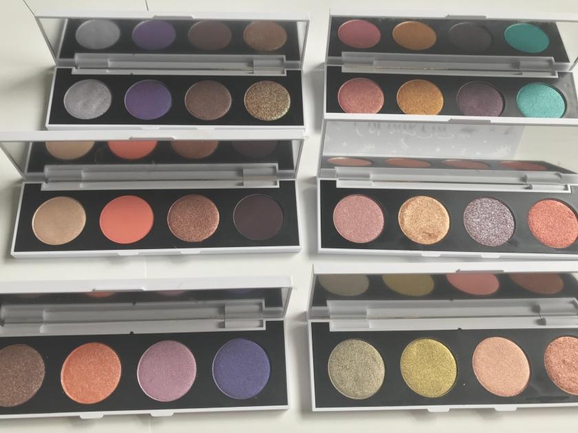 Colourpop Customer Eyeshadows - 4 Pan Palettes