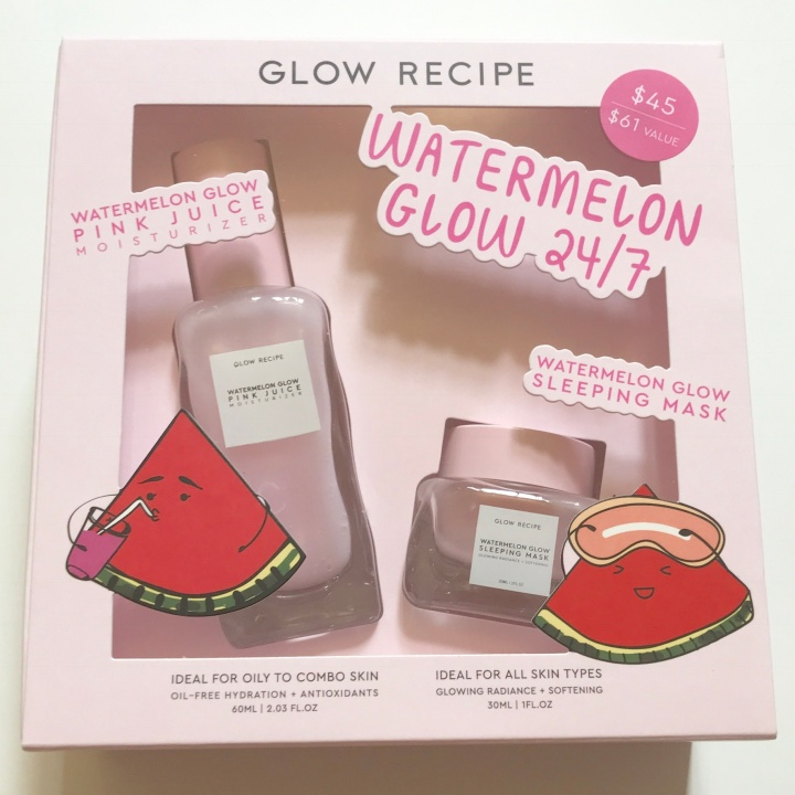 GLOW RECIPE Watermelon Set Unboxing