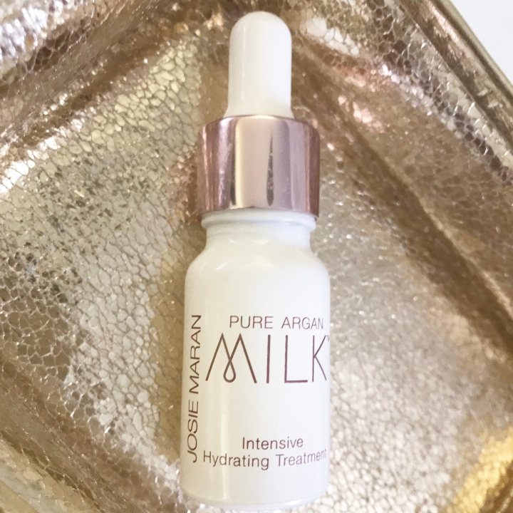 JOSIE MARAN Pure Argan Milk™ Intensive Hydrating Treatment Mini Product Review