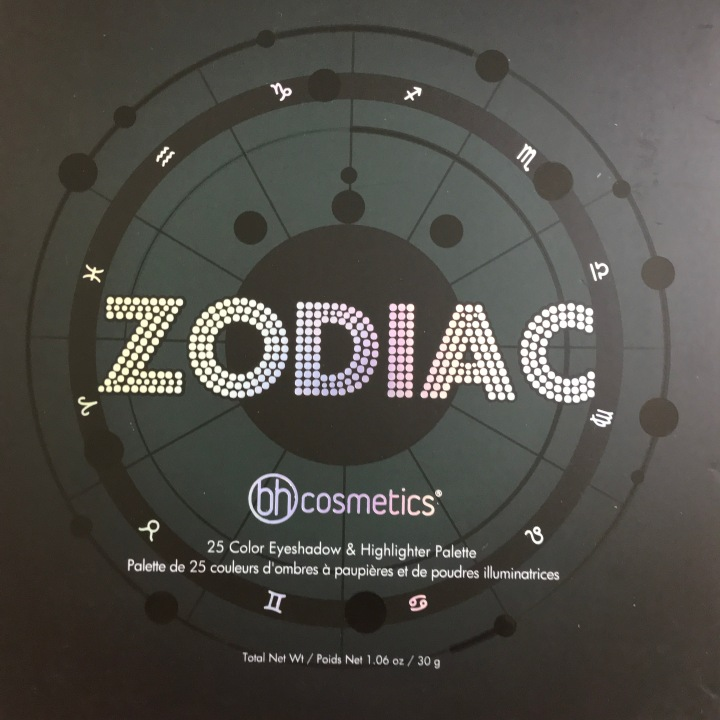Zodiac 25 Color Eyeshadow Highlighter Palette Beauty explore online Unboxing