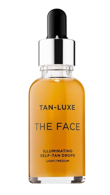 Dupe for the face tan Lux self tan boost drops