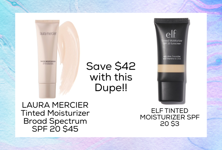 Drugstore Dupes for laura Mercier SPF 20 Tinted Moisturizer.