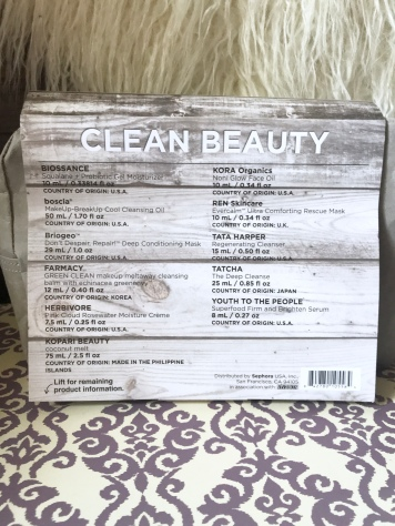 Sephora Favorites- Clean Beauty Unboxing