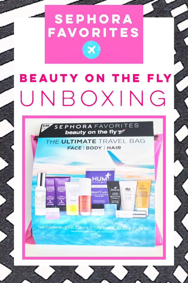 Sephora Favorites On the Fly – Unboxing