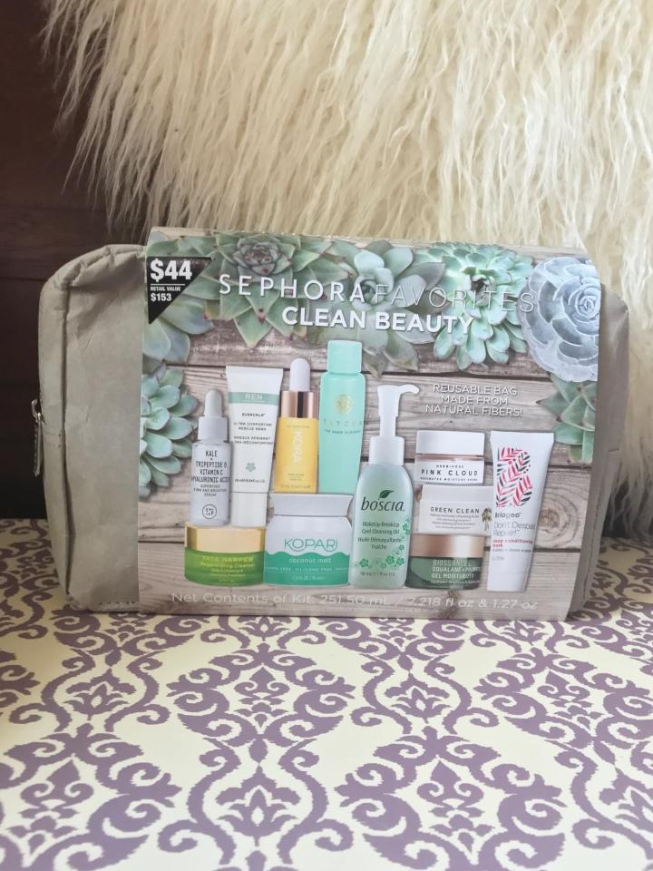 Sephora Favorites- Clean Beauty Unboxing