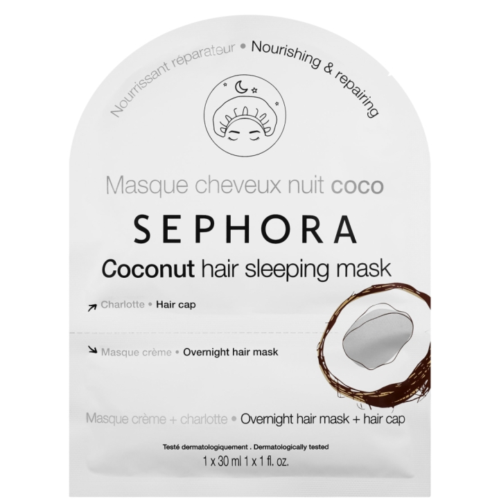 Sephora Coconut Hair Sleeping Mask by Beauty Explore Online