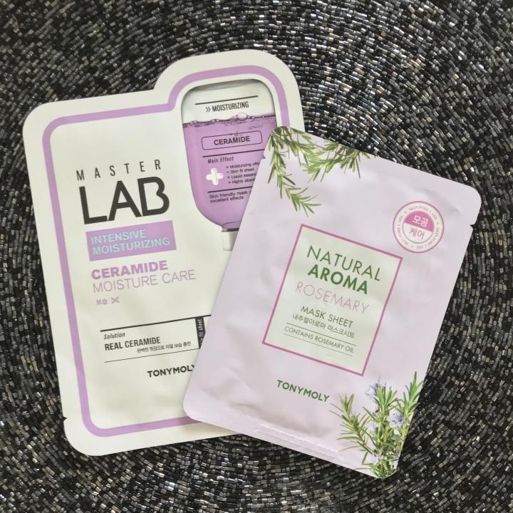 Tonymoly Ceramide Mask and Free Gift With Purchase Rosemary Aromatherapy Mask - Ulta Haul