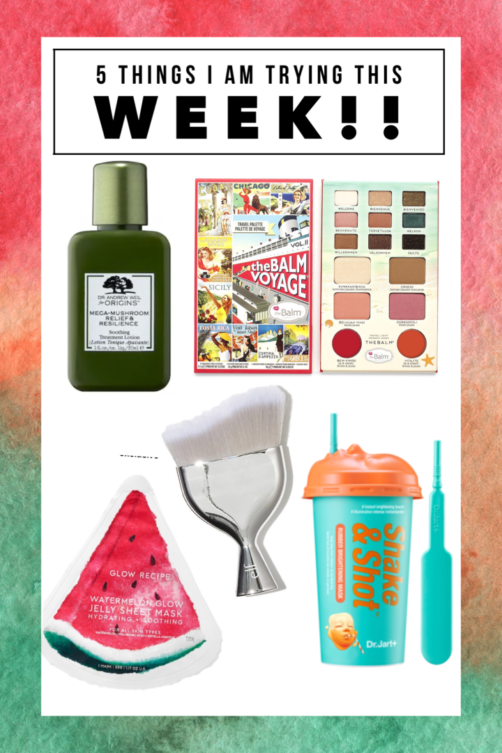 5 New Things I am Trying This Month – Glow Recipe, Origins, Elf, Dr. Jart, and The Balm!!