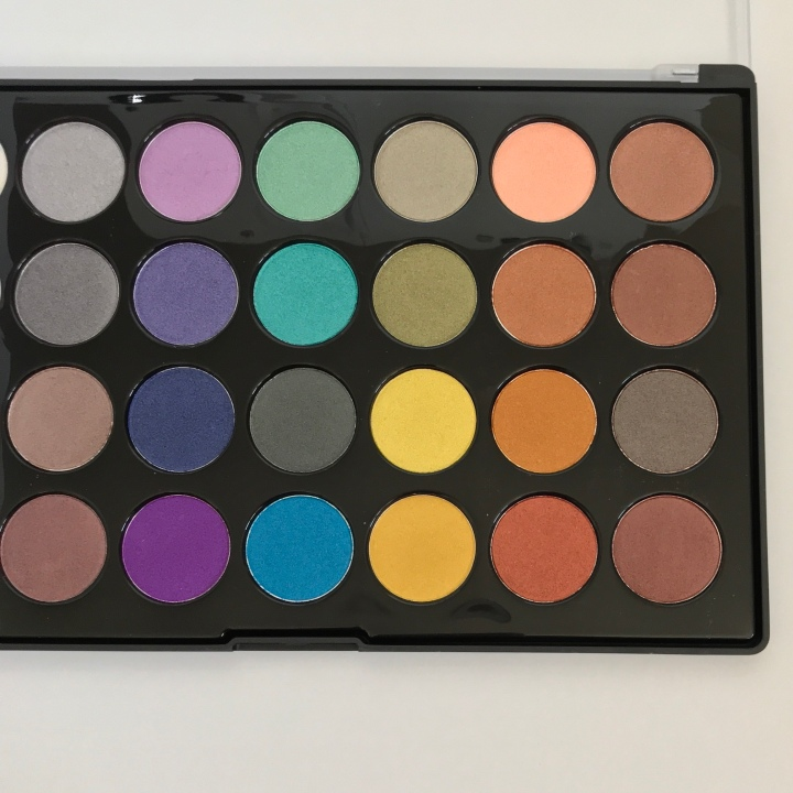 Bh Cosmetics Foil Eyes - 28 Color Eyeshadow Palette Unboxing by Beauty Explore Online Blog