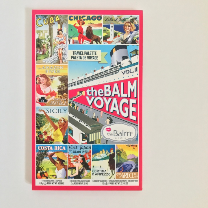TheBalm Voyage Vol.2 Makeup Palette - Unboxing Photos