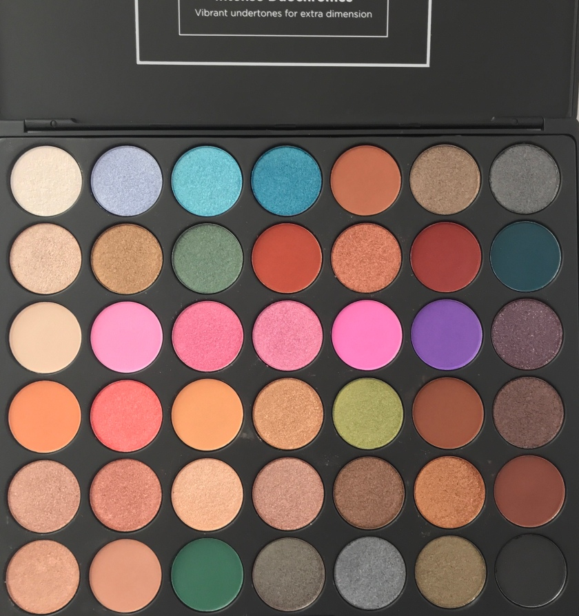 Unboxing Bh Cosmetics Studio Pro Ultimate Artistry 42 Color Eyeshadow Palette Photos by Beauty explore online