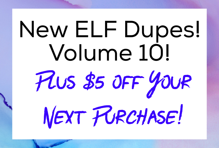 Elf Cosmetics Coupon Code 2018 $5 Coupon