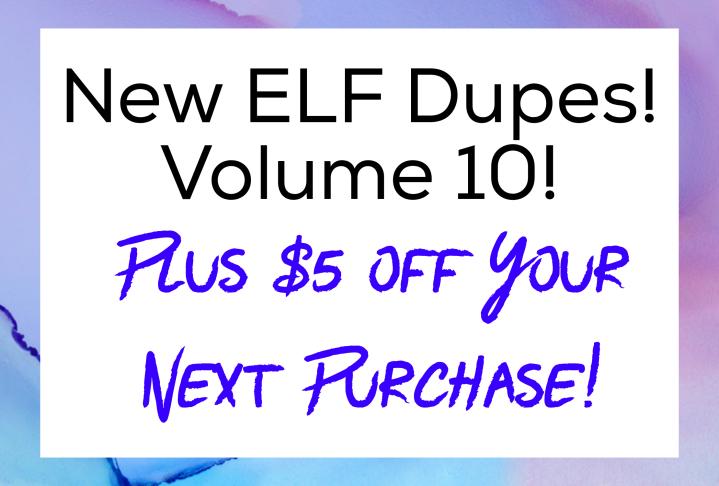 Elf Cosmetics Coupon Code 2018 $5 Coupon