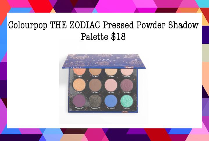 Best Palettes Under $20 4. Colourpop THE ZODIAC Pressed Powder Shadow Palette $18
