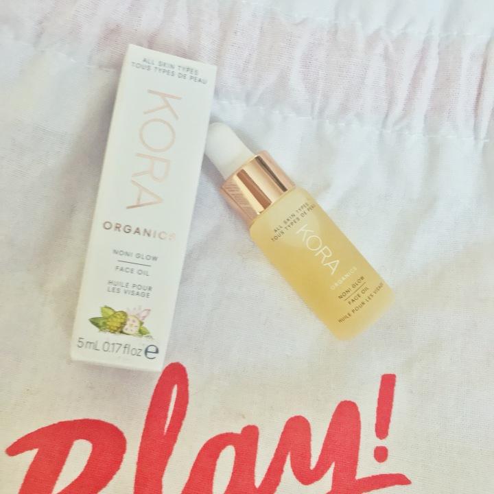 Sephora Play Unboxing Kora Organics Noni Glow Face Oil