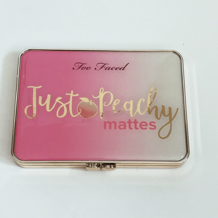 JUST PEACHY MATTES by Too Faced Unboxing